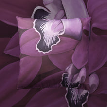 Load image into Gallery viewer, Plum Orchid Throw Pillow