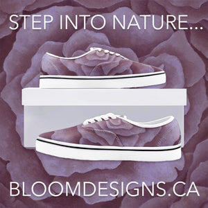 Plum Rose Loafer Sneakers