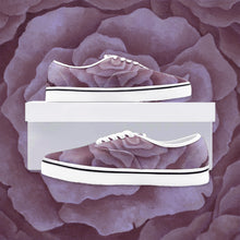 Load image into Gallery viewer, Plum Rose Loafer Sneakers
