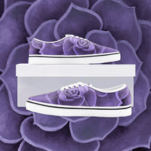 Load image into Gallery viewer, Purple Succulent Loafer Sneakers