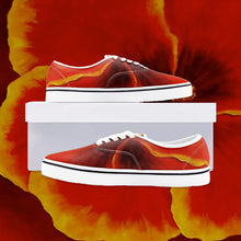 Load image into Gallery viewer, Red Hibiscus Loafer Sneakers