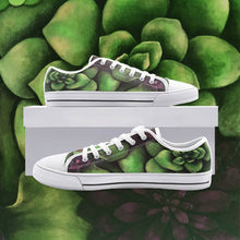 Load image into Gallery viewer, Succulent Low Top Canvas Shoes