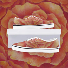 Load image into Gallery viewer, Tangerine Rose Loafer Sneakers