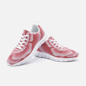 Coral Rose Unisex Athletic Sneakers