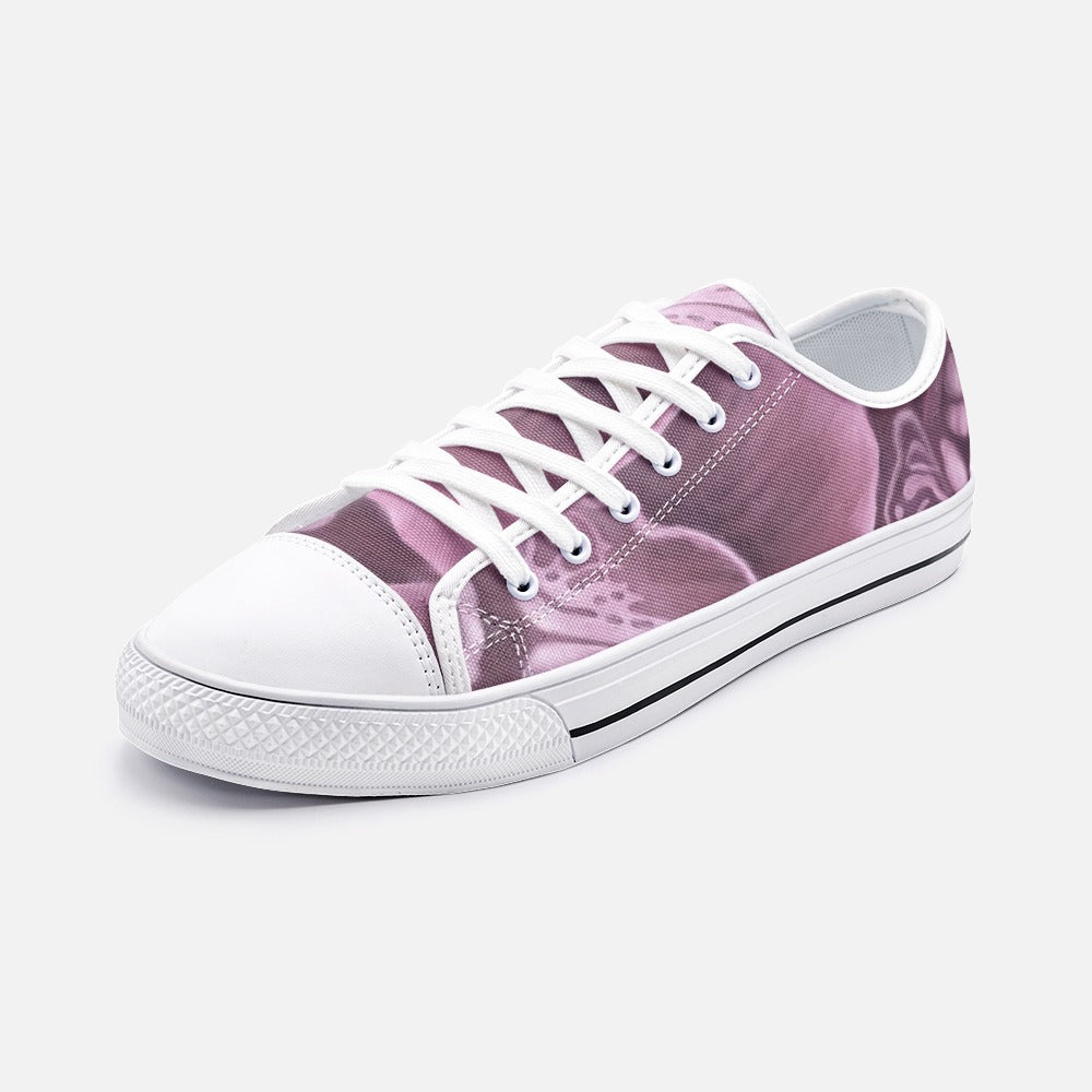 Mauve Orchid Low Top Canvas Shoes