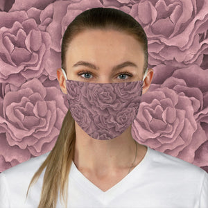 Blush Roses Face Mask