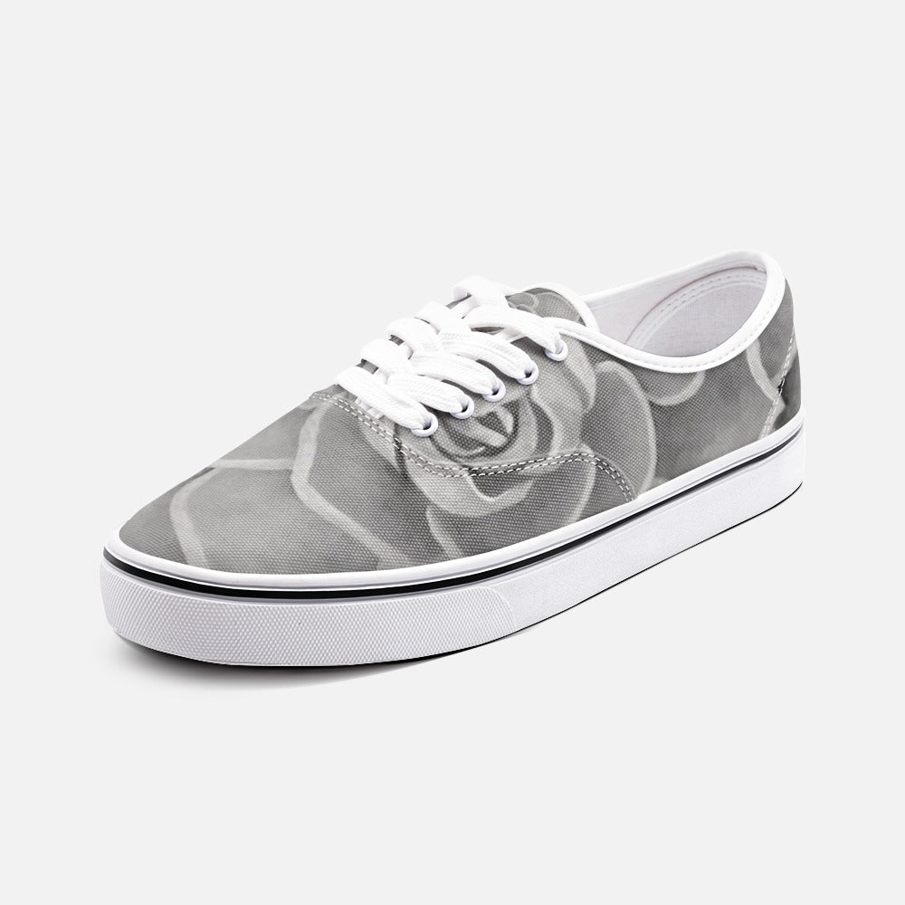 Grey Succulent Loafer Sneakers