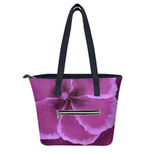 Load image into Gallery viewer, Fuchsia Hibiscus Handbag