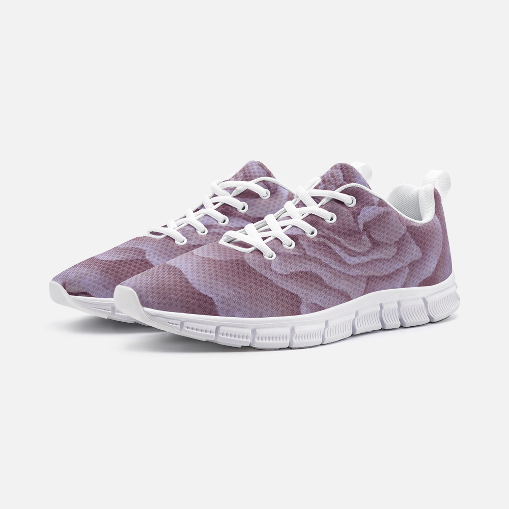 Plum Rose Athletic Sneakers
