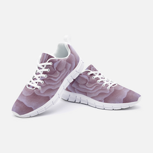 Plum Rose Unisex Athletic Sneakers