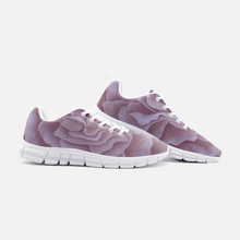 Load image into Gallery viewer, Plum Rose Unisex Athletic Sneakers