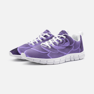 Purple Succulent Athletic Sneakers