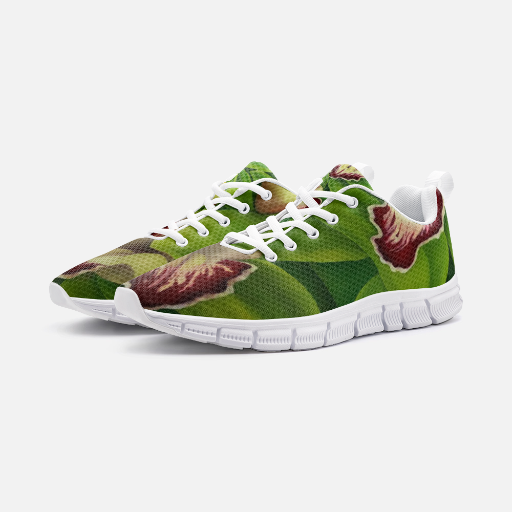 Lime Orchid Unisex Athletic Sneakers