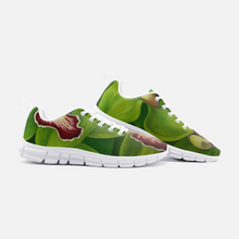 Load image into Gallery viewer, Lime Orchid Unisex Athletic Sneakers