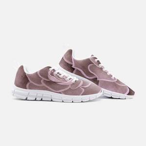Blush Succulent Athletic Sneakers