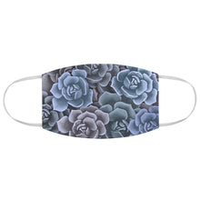 Load image into Gallery viewer, Blue Succulents Face Mask