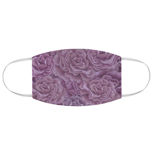 Plum Roses Face Mask