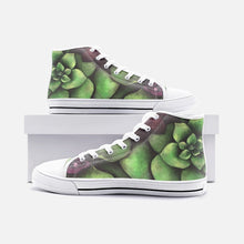 Load image into Gallery viewer, Succulent High Top Canvas Shoes