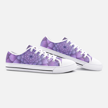 Load image into Gallery viewer, Lilac Unisex Low Top Canvas Shoes