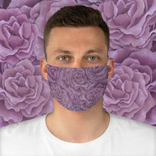 Load image into Gallery viewer, Plum Roses Face Mask