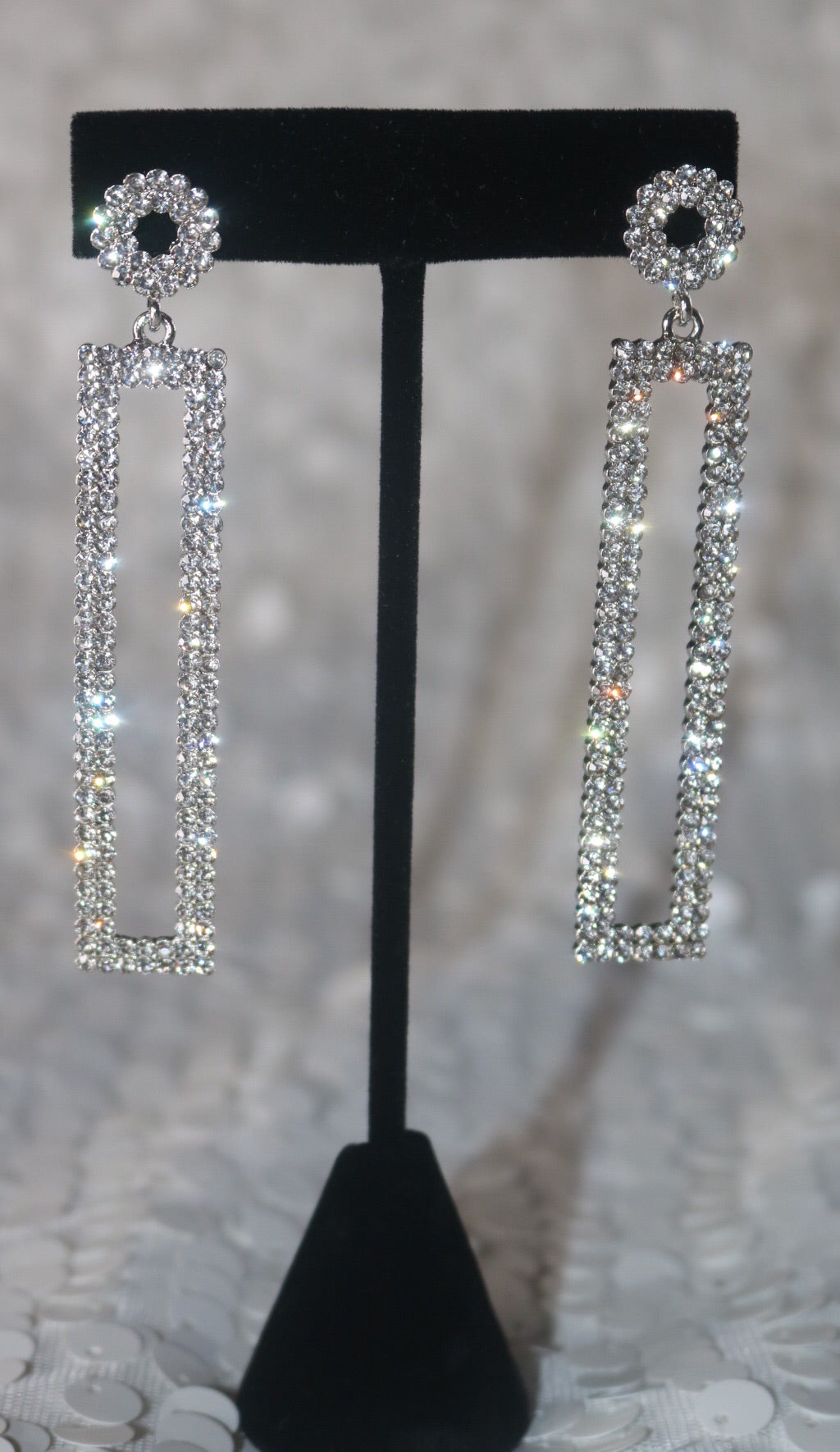 High Class Earrings - Silver