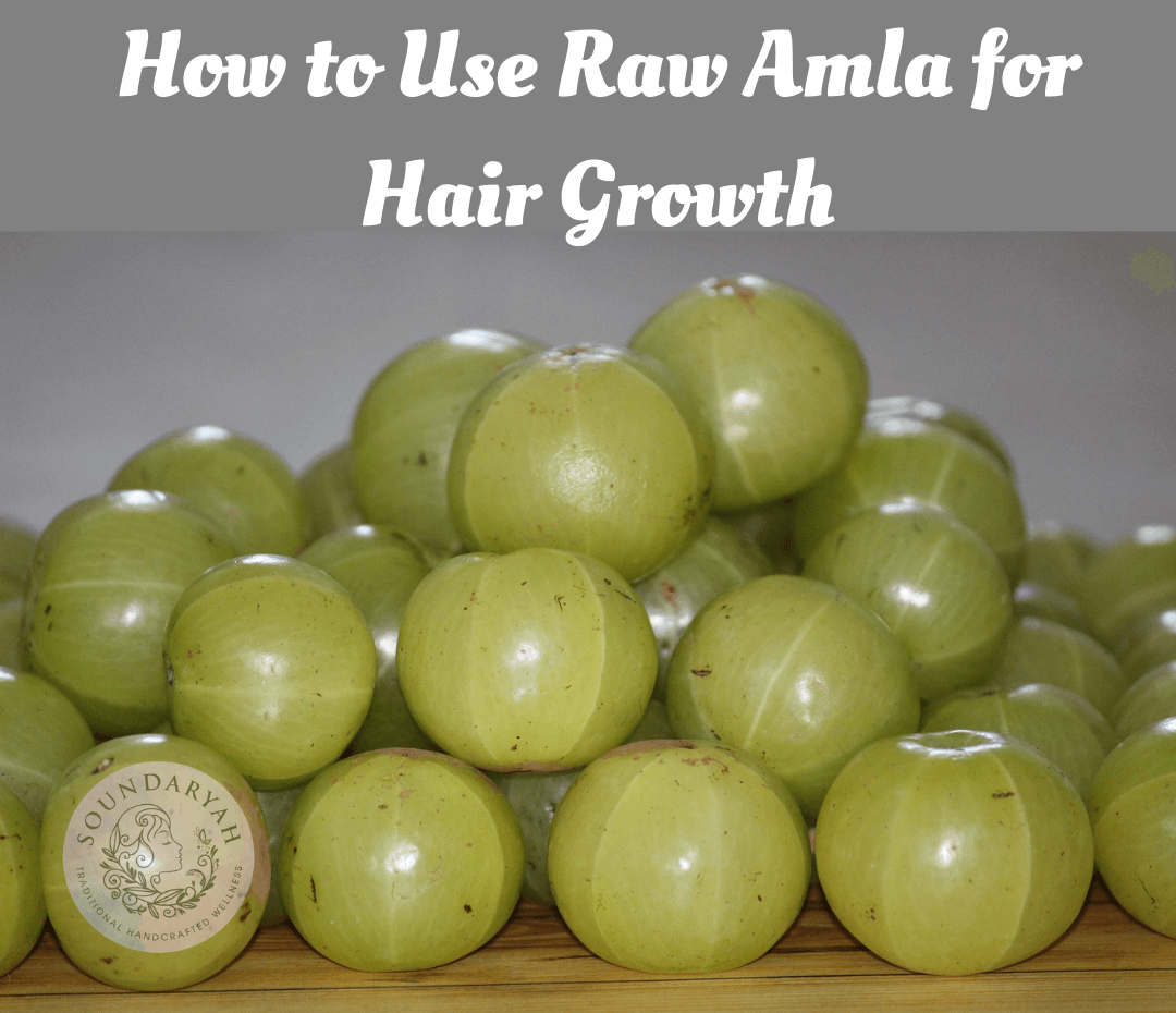 Struggling with hair loss? Explore age old remedies of Ayurveda and learn How to Use Raw Amla for Hair Growth using only natural ingredients.