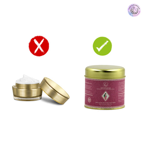 The face mask market is very saturated with many types like sheet masks, clay masks, bubble masks, etc. However, we only swear by organic herbal face masks made from pure ingredients.