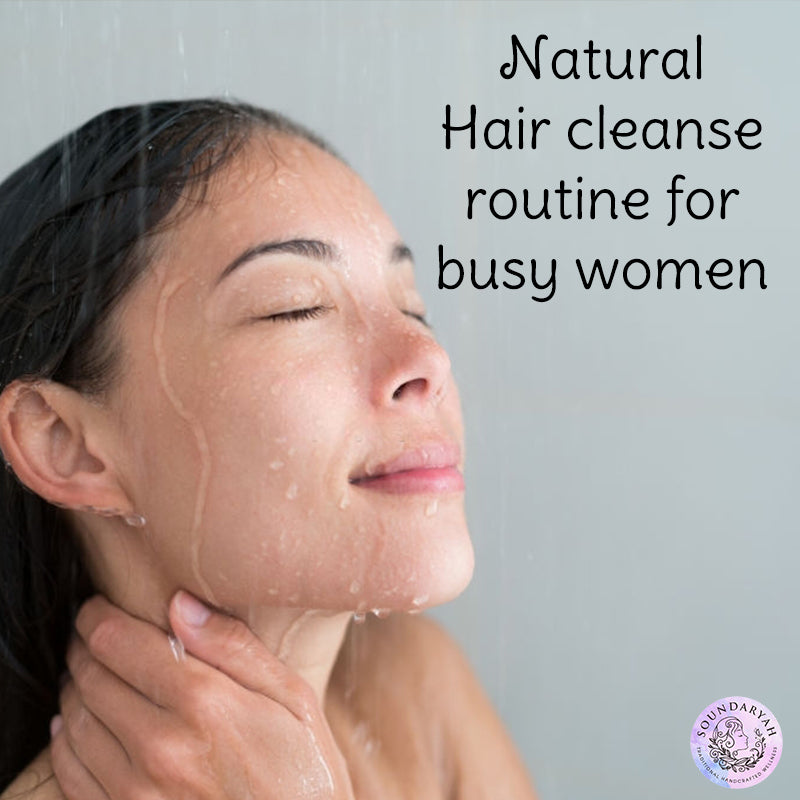With our fast-paced lifestyle and every-changing climate, we find it hard to spare some time to take good care of our hair. This is most applicable to working women who wouldn't want to waste even a minute on themselves while juggling work and household. However, is the store-bought quick fix shampoo you use truly fixing anything?