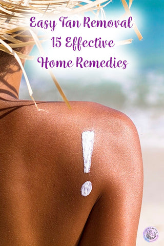 Tanned skin can make you feel fabulous or make you hide in your room till it goes away. While it eventually fades out, try out these effective at-home quick fixes for easy tan removal!