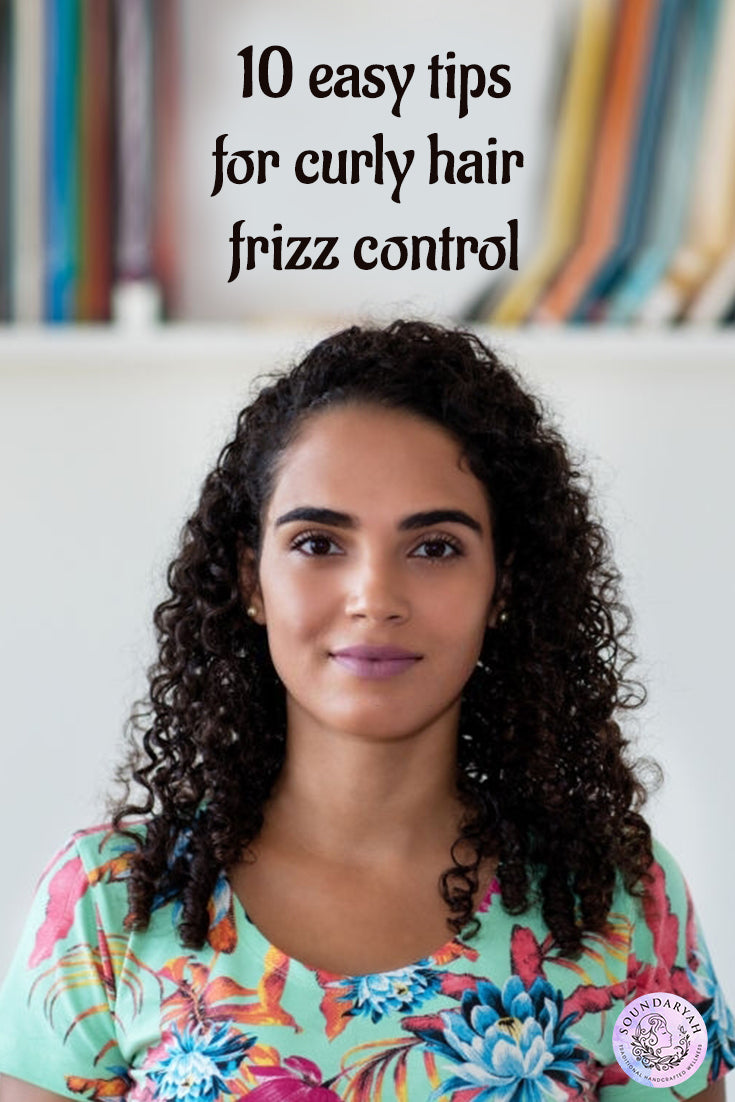 All types of hair require maintenance to certain extent but when it comes to curly hair, the struggle is real. The weather, pollution, hair products decide if you will be spending your day detangling the frizzy mess or not. However, you can keep your curly hair frizz under control.