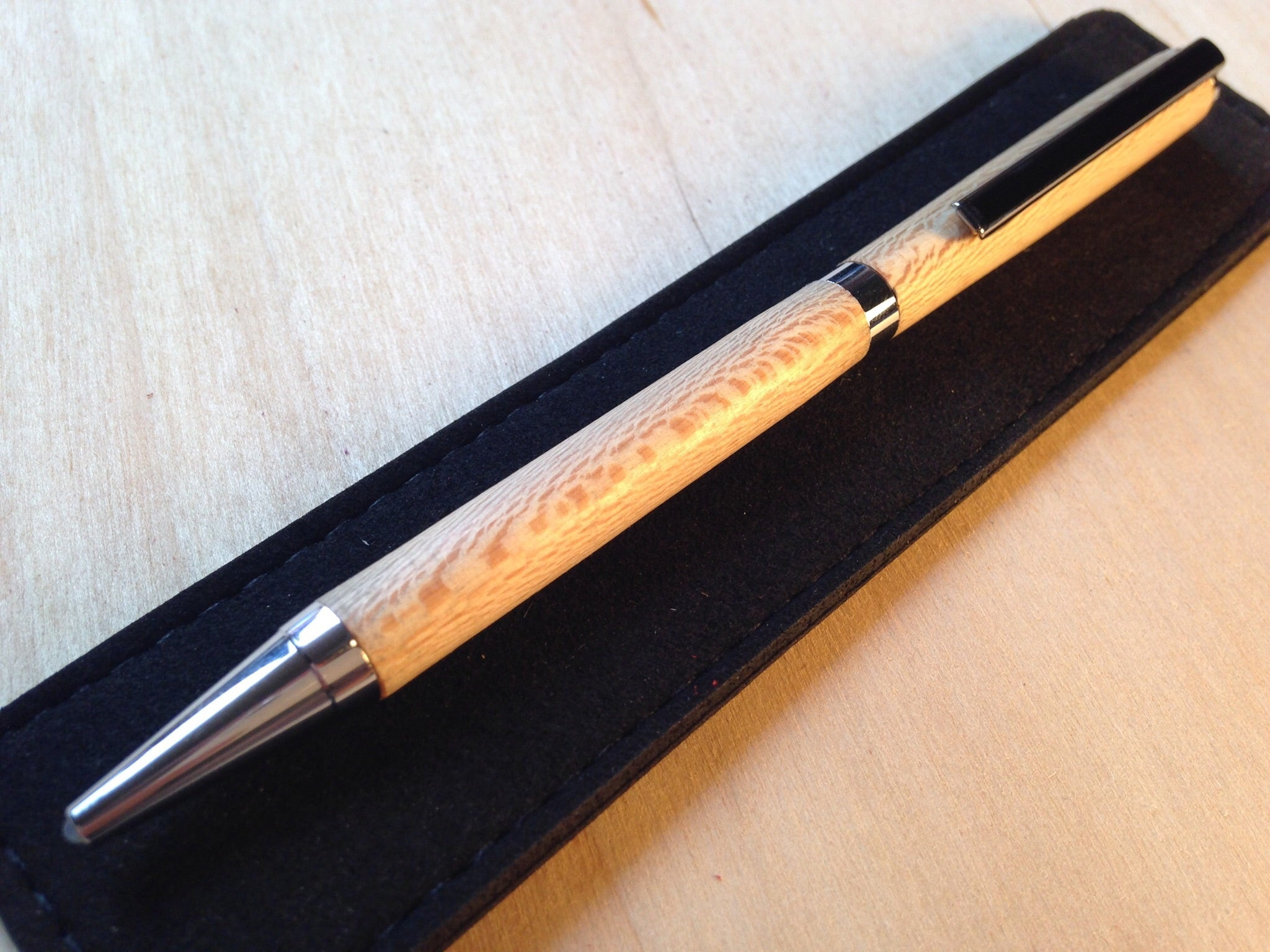 Slimline Twist Pen - Chrome