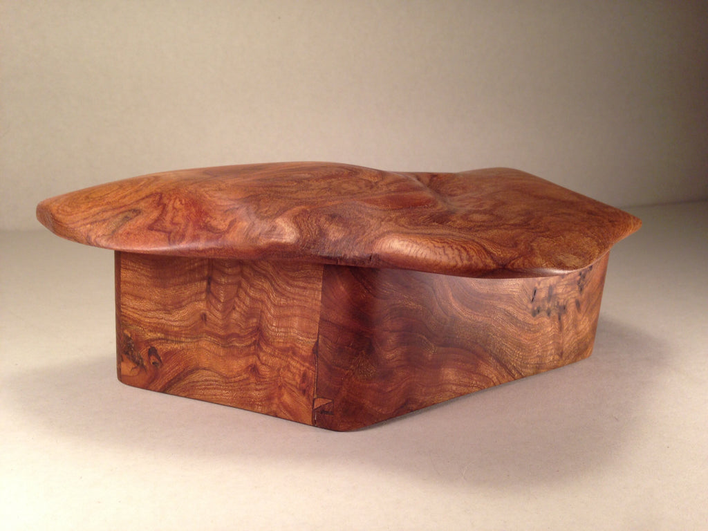 Sold - Elm Jewellery Box