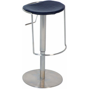 Excellent Chintaly Pneumatic Gas Lift Adjustable Height Swivel Backless Bar Stool Pabps2019 Chair Design Images Pabps2019Com