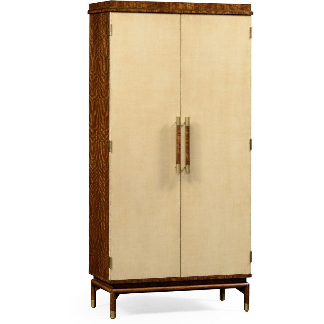 Hyedua Tall Drinks Cabinet by Jonathan Charles Fine Furniture bar cabinet Jonathan Charles Fine Furniture - Express Home Bars