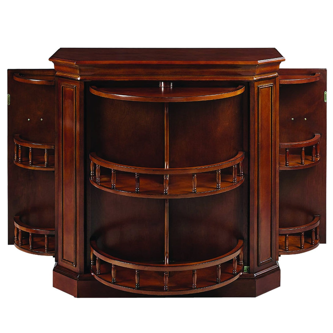 RAM Gameroom - Bar Cabinet with Spindle Bar RAM Game Room - Express Home Bars