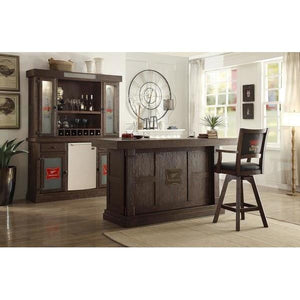 ECI Furniture Miller High Life 5 Piece (Front Bar, Back Bar, Stools) Home Bar Set Bar Set ECI - Express Home Bars