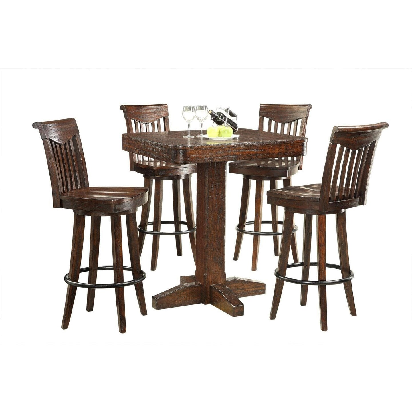 Gettysburg Pub Table and Chair Set - Bar Table by ECI Bar Table ECI - Express Home Bars