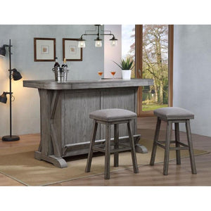 Graystone Bar 3 piece Bar Set by ECI Furniture Bar Set ECI - Express Home Bars