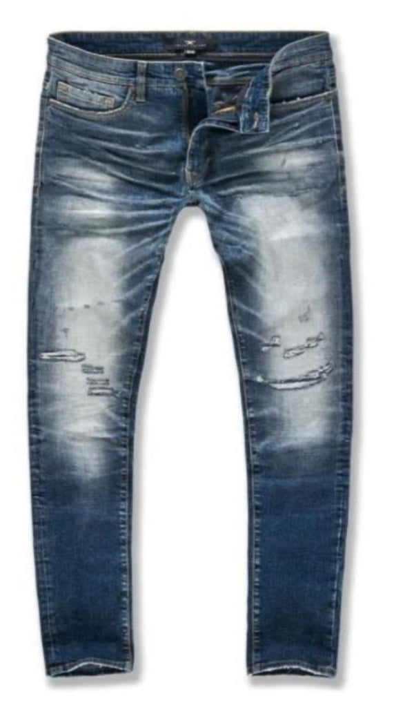 Jordan Craig Jeans For Men - MID BLU JM3412 - Action Wear