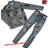 DNA Denim Jeans Set - St18 - Action Wear