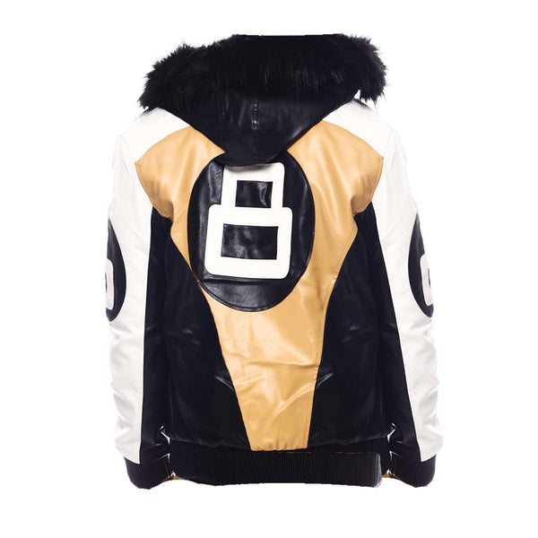 Kids 8 Ball Jacket KPU8BH Wheat - Action Wear