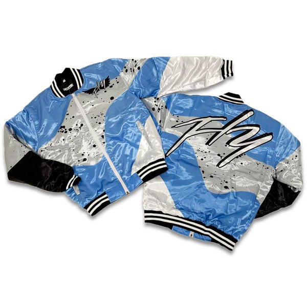 Men Retro Label 4's UNC Jacket Fly - Action Wear
