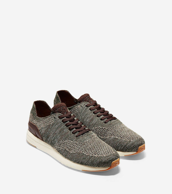Men's  Cole Haan  GrandPro Running Sneaker W Stitchlite Lambs Wool Knit C28316 - Action Wear