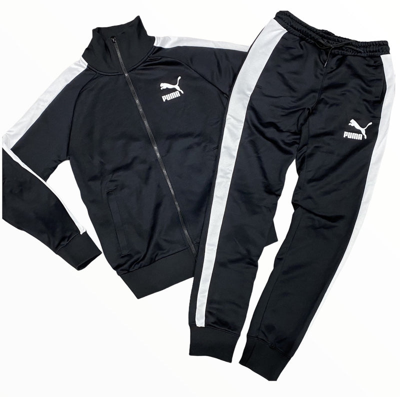 Puma  Sweat Suit - 530094 11 Black - Action Wear