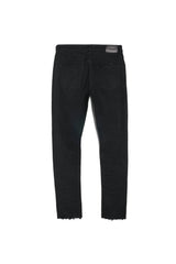 Purple Jeans With Slim Leg Black Resin - P001 BLR - Action Wear