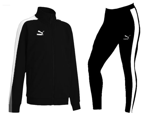 Puma Sweat Suit For Women -  Black - Action Wear