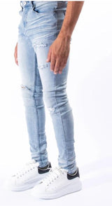 Serenede Potala Palace Jeans - PTLPC LT BLU - Action Wear