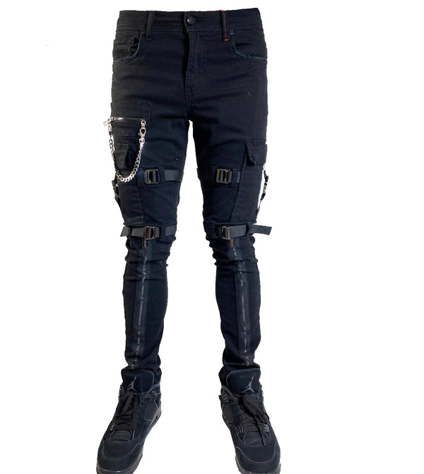 Preme Utility Jeans For Men - PR-WB-676 - Action Wear