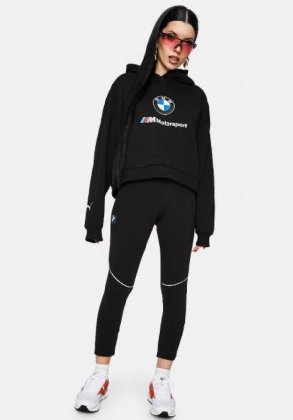 Puma BMW Sweat Suit For Women 599539 Black - Action Wear