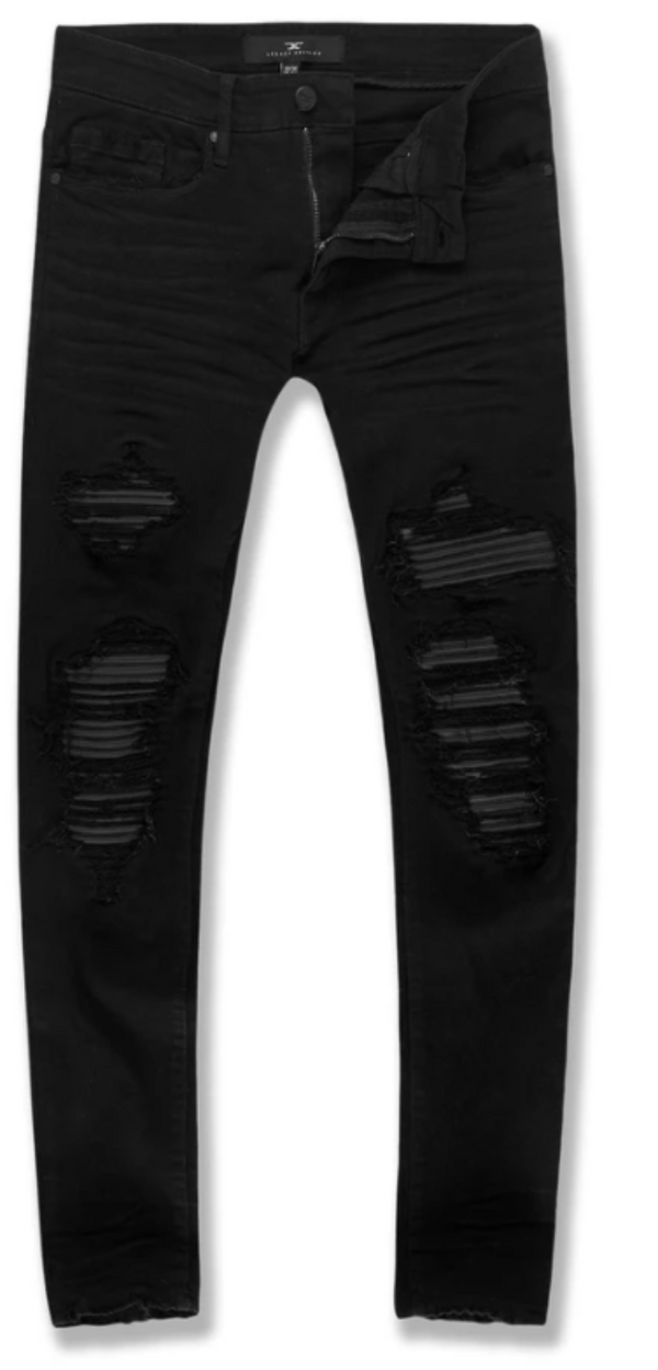 Jordan Craig Jeans For Men - SEAN REIGN DENIM (JET BLACK) JM3434 - Action Wear